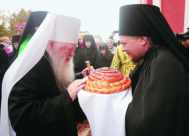 Празднование в честь 500-летнего юбилея Вознесенской мужской пустыни возглавил митрополит Крутицкий и Коломенский Ювеналий