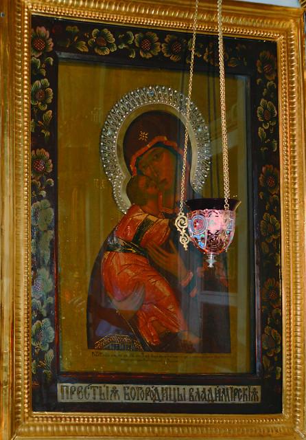 Владимирская икона Божией Матери известного иконописца Афанасия  Рязанцева