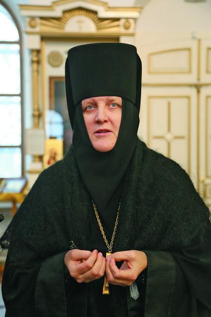 Игуменья монастыря Екатерина (Гаева)