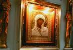 Казанская икона Божией Матери в монастырском храме