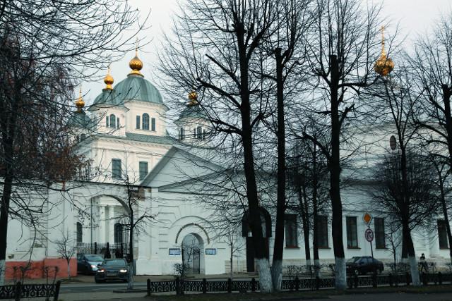 Казанский монастырь в Ярославле построен по повелению Самой Богородицы