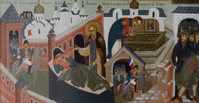 Явление преподобного Саввы принцу Евгению Богарнэ