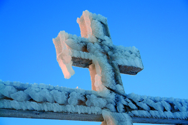 Церковь построена в память полярных исследователей, погибших на шестом континенте