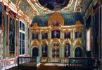 Храм в честь Сретения Господня находился в Зимнем дворце рядом с жилыми покоями царской семьи и был особенно любим его немного численными прихожанами