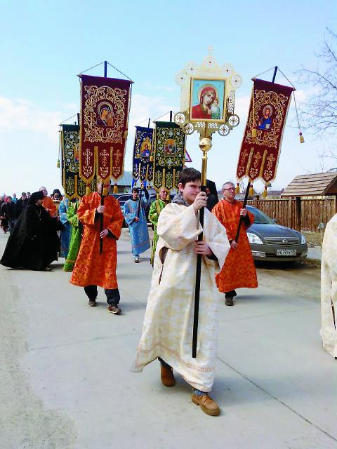 Крестный ход в Свияжске