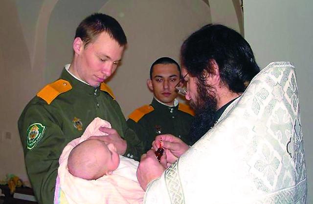 Крещение в Харлампиевском храме