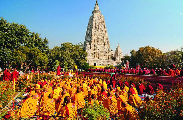 Основные места паломничества последователей Сиддхартхи Гаутамы располагаются в Северной Индии и Южном Непале. По преданию, сам Будда завещал посещать эти места своим ученикам