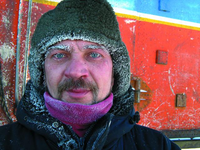 Погибший механик Дмитрий Ламакин. 2008 год