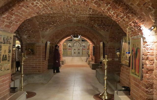 В храме Архангела Михаила состоялась первая Литургия после многолетнего перерыва в богослужебной жизни монастыря