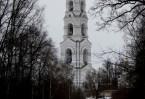 Колокольня Николо-Бирлюковского монастыря  – самая высокая в Москве и Московской области