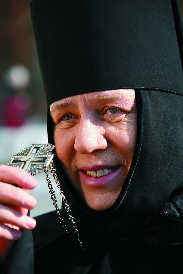 Настоятельница Серафимо-Дивеевского монастыря игумения Сергия
