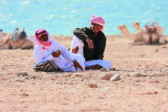 Люди из племени Джабалия защиту монастыря  считают своим долгом