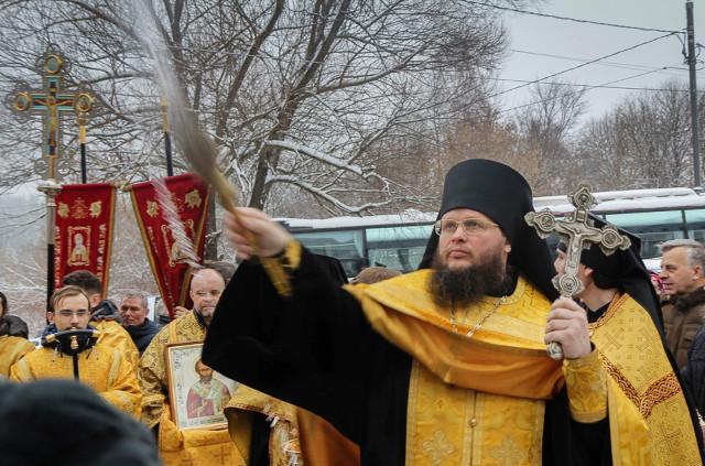 Настоятель монастыря игумен Евмений