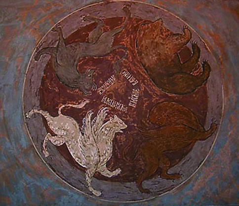 И очень вовремя: в ходе реставрации собора фрески были крайне неудачно поновлены. Часть этих копий сейчас можно увидеть в постоянной экспозиции Музея имени Андрея Рублева.