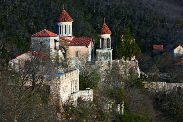 Монастырь Моцамета. Общий вид