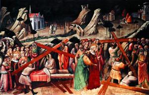 Обретение Креста Господня. А. Гадди