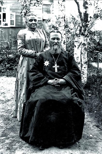 Святой праведный Иоанн и его жена, матушка Елизавета
