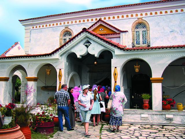 Монастырь Пантократор Камарела