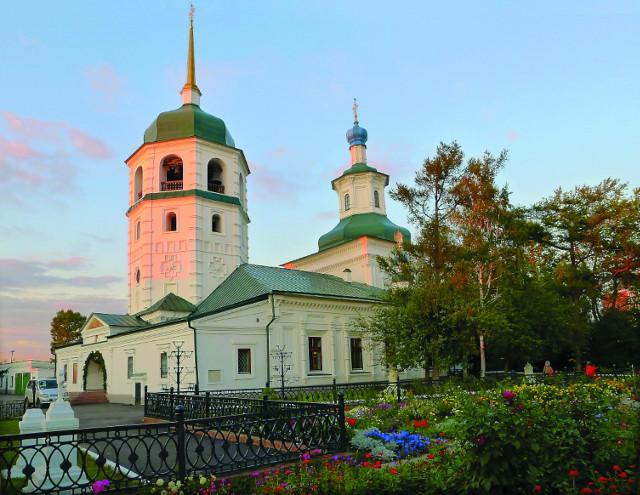 Знаменский монастырь, где сейчас покоятся мощи святителя Иннокентия