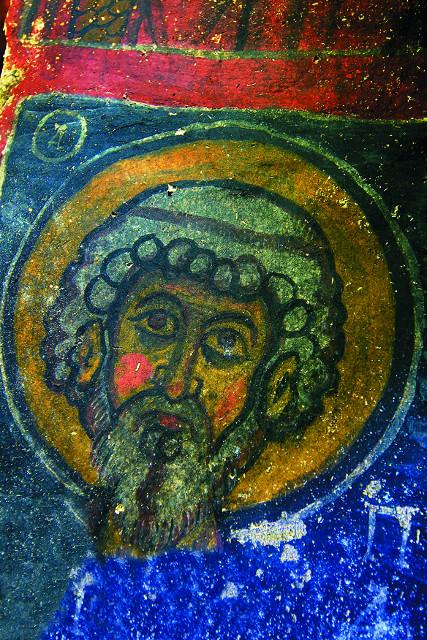 Некоторые ученые датируют росписи V веком