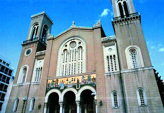 Афинах восстановлен кафедральный собор Элладской Православной Церкви
