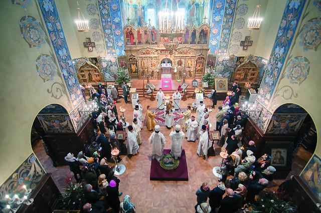 Освящение Николаевского собора