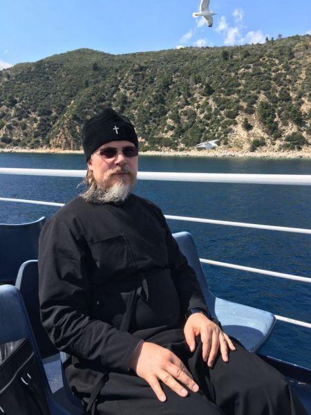 Владыка Марк в паломнической поездке на Афон