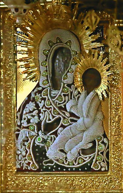 Грузинская икона Божией Матери. Старинный чудотворный образ