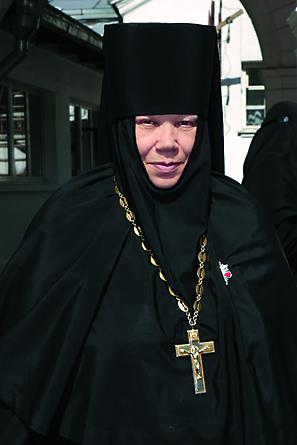 Настоятельница монастыря, игумения  Афанасия (Грошева)