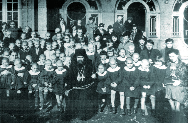 Шанхай. Детский приют во имя святителя Тихона Задонского