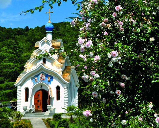 Троице-Георгиевский монастырь в Лесном