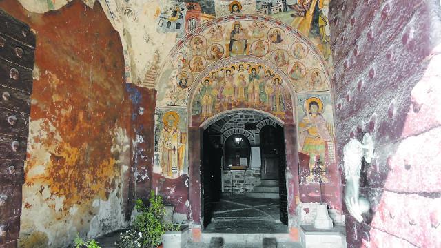 Фрески монастыря Ксенофонт