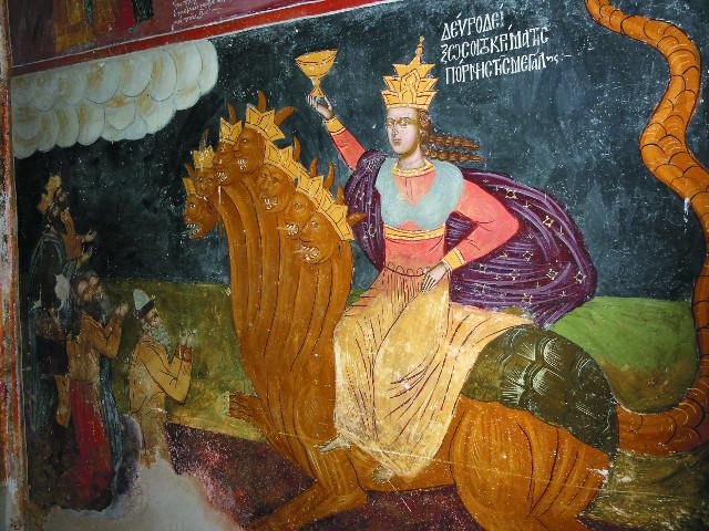 Святой Афон противостоит апокалиптической вавилонской блуднице