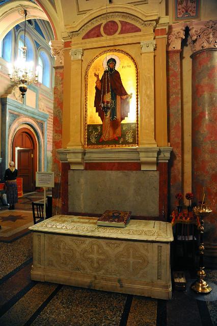 Гробница блаженной Марфы Московской