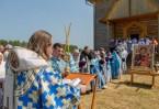 Молебен в селе Торчино
