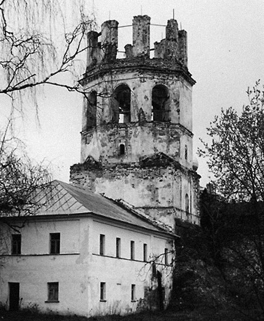 Разрушенный монастырь в богоборческие годы