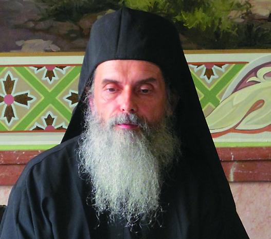 Иеромонах Кирион (Ольховик) полномочный представитель Пантелеймонова монастыря в Священном Киноте