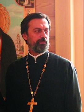 Протоиерей Алексей Батаногов, настоятель храма святого праведного Федора Ушакова в Новогирееве