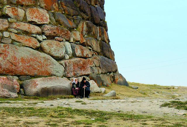 Две паломницы. Фото Галины Дигтяренко