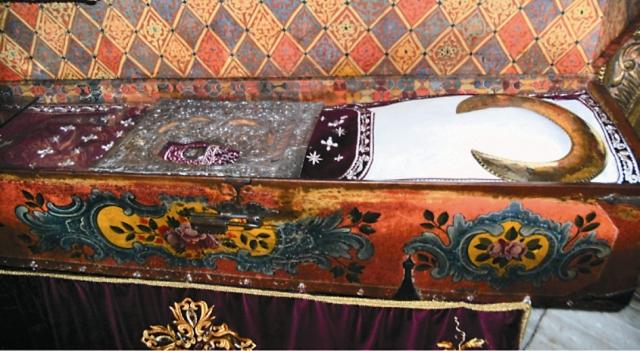 Рака с мощами святого Иоанна Рыльского