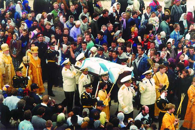 Крестный ход 5 августа 2001 года