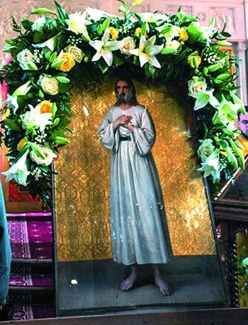 Образ преподобного Алексия, человека Божия