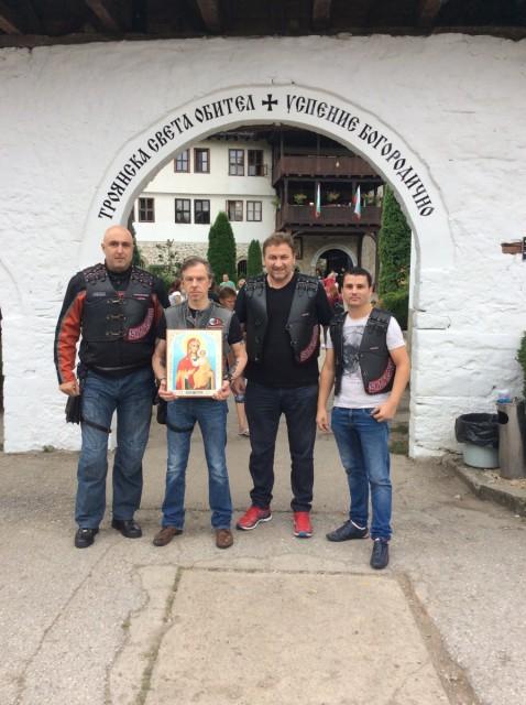 С 18 по 21 августа 2016 года мотоциклисты из России совершили паломничество к православным святыням Болгарии