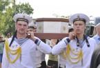 Крестный ход с мощами святого Феодора Ушакова. фото с сайта Православие.ру
