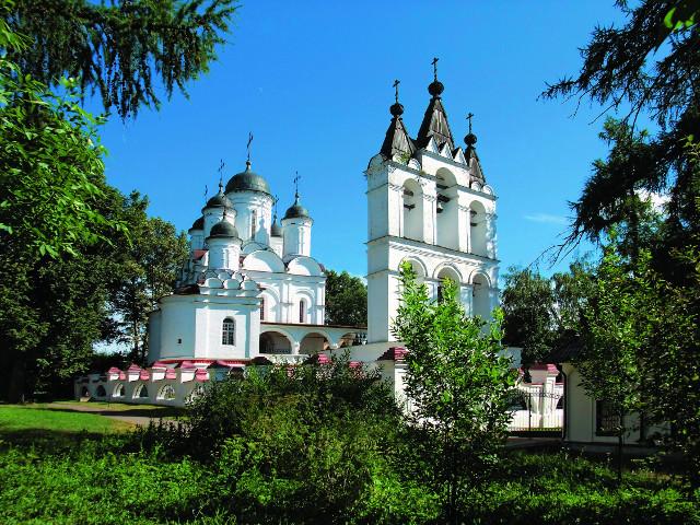 Преображенская церковь в селе Большие Вяземы
