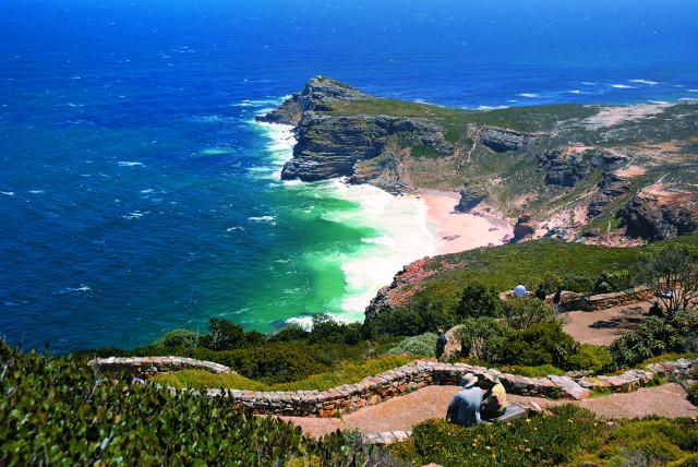 Мыс Доброй Надежды - самая южная  точка африканского континента