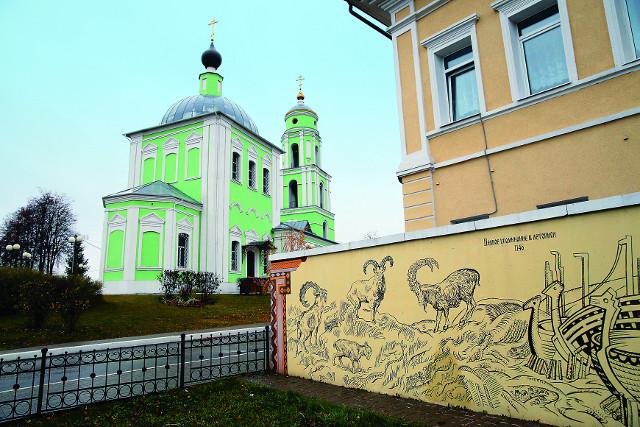 Церковь Сошествия Святого Духа была первой восстановленной в городе