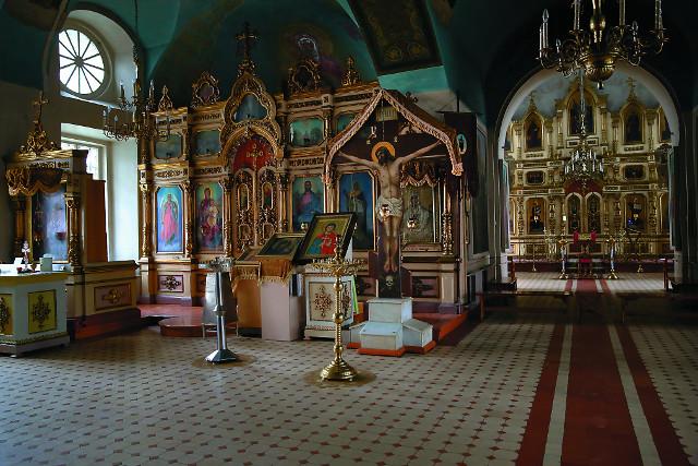Интерьер Духовской церкви