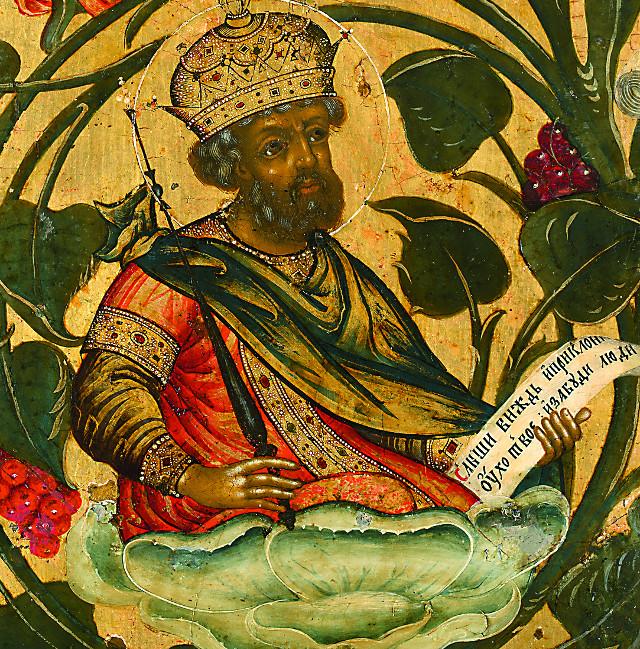 Праведный царь Давид псалмопевец