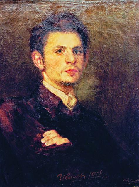 Автопортрет Г. Иванова. 1938 год
